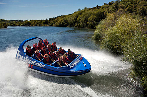 If you are in Taupo the jetboat and whitewater rafting combo is a