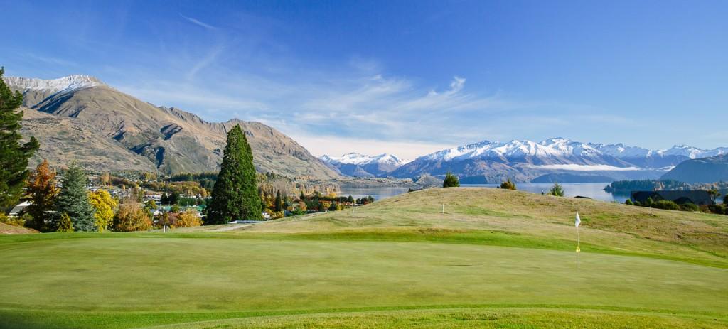Wanaka Golf Club 5th Green Image courtesy Wanaka Golf Club