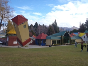 Fun for all  the family at Puzzling World