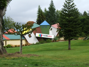 Wanaka's Puzzling World is great fun for the family