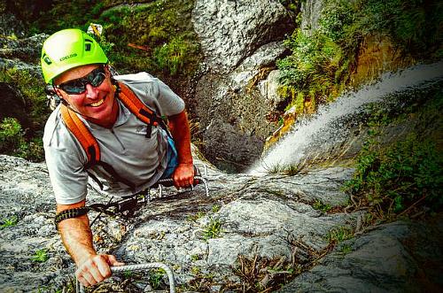 Climb the falls on this amazing Via Ferrata experience