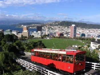 Wellington's iconic cable car