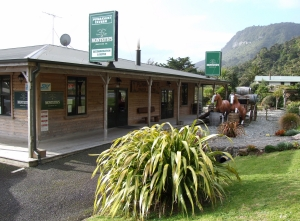 The tavern at Punakaiki