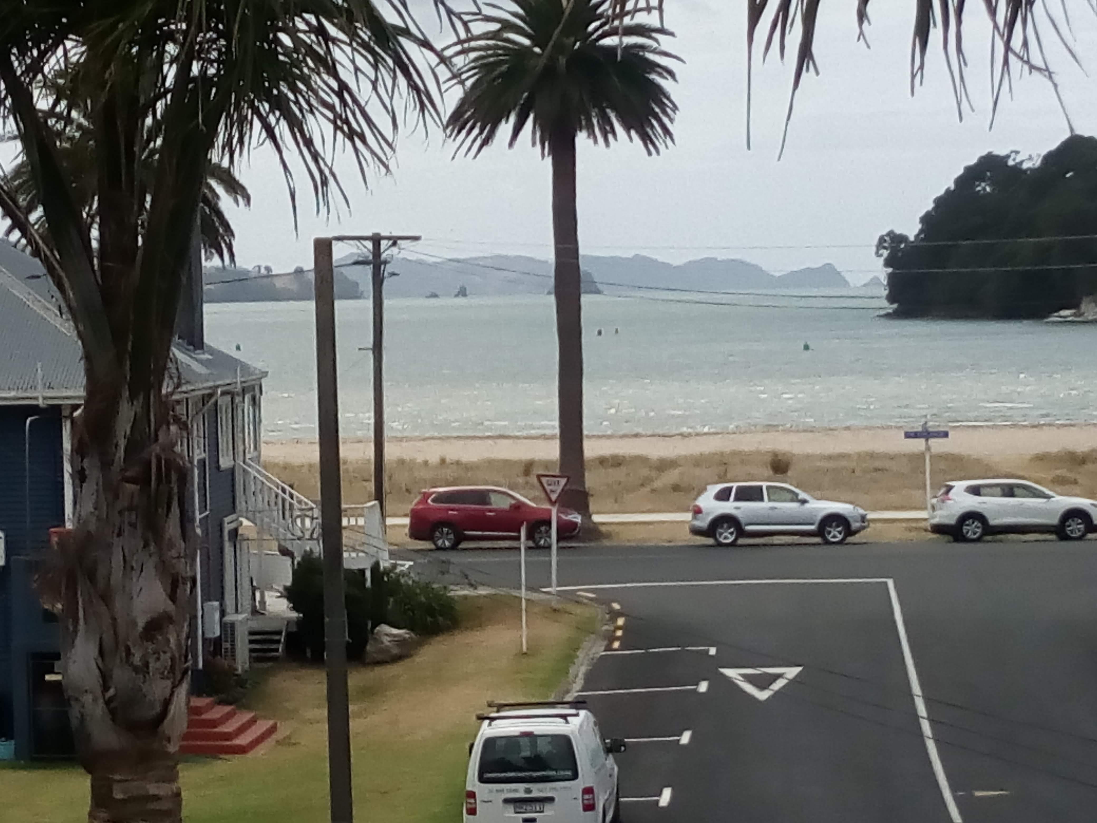 The view from Crow's Nest apartments Whitianga