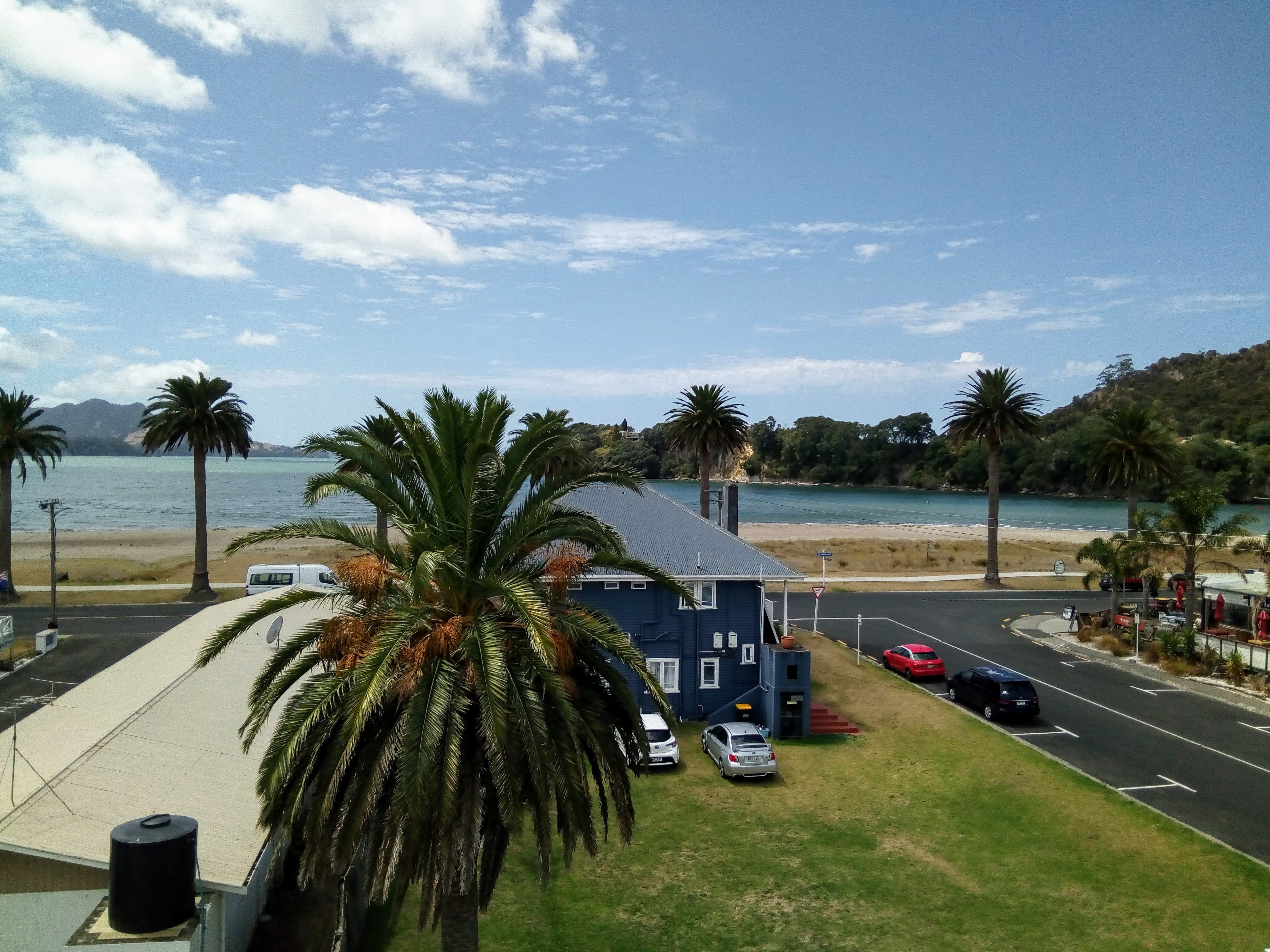 Views from the roof top terrace at Crow's Nest Whitianga