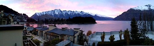 Dusk in Queenstown