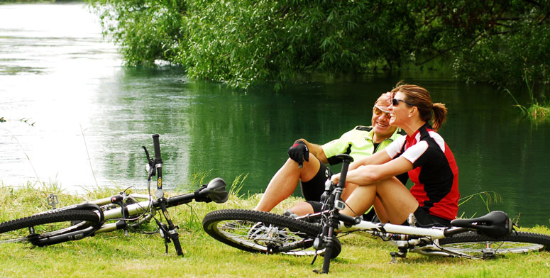Cycling is just one of the many activities available at Acacia Cliffs Lodge - pic courtesy Acacia Cliffs Lodge