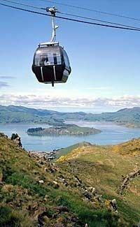 Amazing views from the Christchurch Gondola