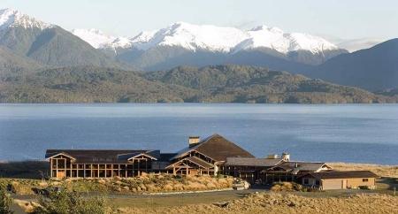 What a setting. Fiordland Lodge