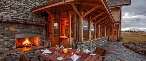 Fiordland Lodge - pic courtesy Fiordland Lodge