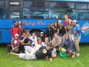 Fun with the award winning Flying Kiwi