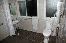 Modern bathrooms at Haka Lodge Christchurch