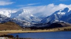 Arthurs Pass in the Southern Alps