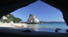 Cathedral Cove in the stunning Coromandel region