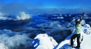 The view from the Remarkables - picture courtesy Haka Tours