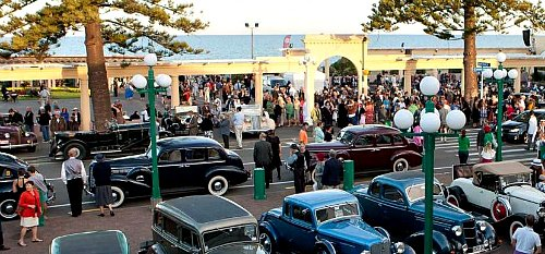 Art Deco weekend in Napier, Hawke's Bay