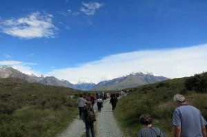 Heading for Edoras