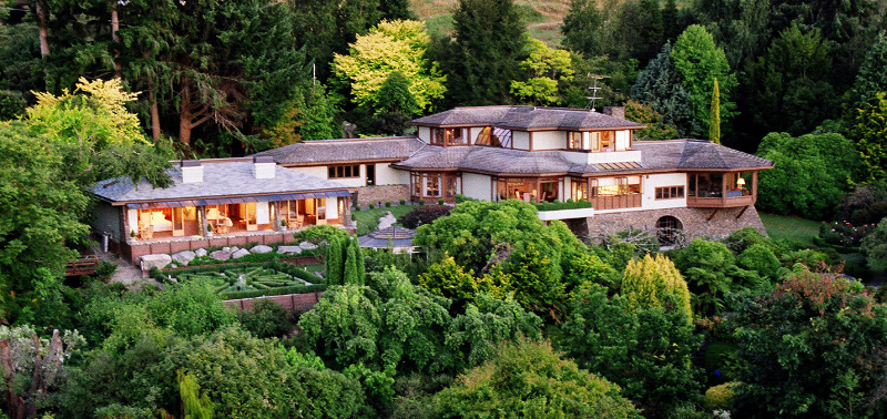 Stunning Lake Taupo Lodge - pic courtesy Lake Taupo Lodge
