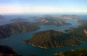 Queen Charlotte Sound in the Marlborough Sounds