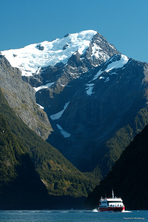 Stunning Milford Sound - image courtesy Tourism Holdings
