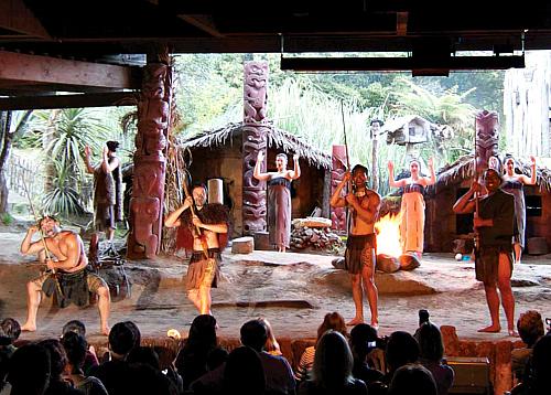 Experience Maori culture at the Mitai Maori Village near Rotorua