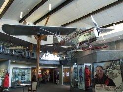 An exhibit in the Sir Edmund Hillary Alpine Center Mt Cook