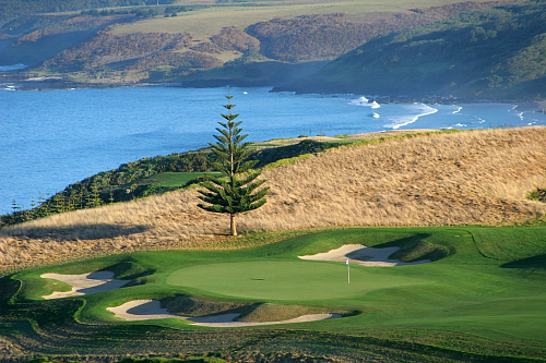 Magical Kauri Cliffs - image thanks to Kauri Cliffs