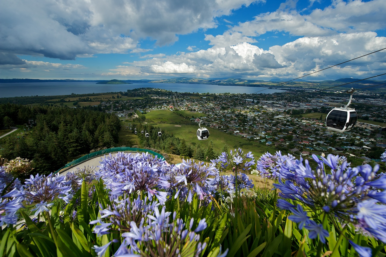 Views from Rotorua's Skyline Gondola - pic courtesy Skyline Gondola