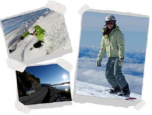 Snow adventures with Haka Tours