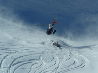Harris Mountain Heli Skiin