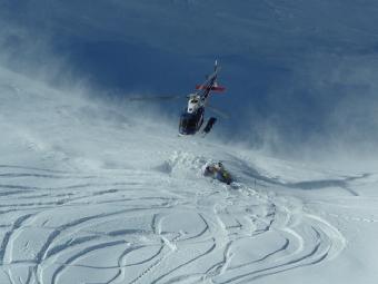 Fun with Harris Mountain Heli Skiing