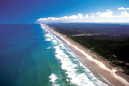 Visit Cape Reinga and 90 Mile Beach on a tour - click for more information
