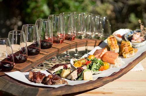 Why not try the half day food and wine pairing tour?