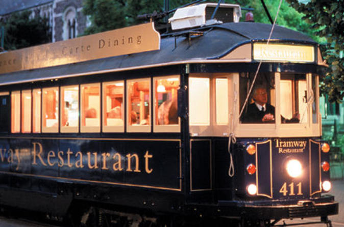 The Tramway Restaurant is a great way to relax and see the Christchurch CBD