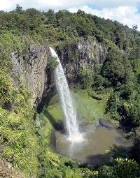 Waikato Bridal Veil Falls Picture Courtesy Vinnie Hall