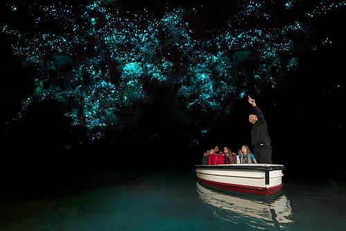 Stunning Waitomo Glowworm Caves - pic courtesy Corin Walker Bain