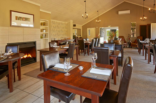 Fine dining at Peppers Martinborough - pic courtesy Booking.com
