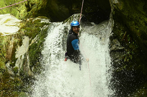 Wow! Wanaka canyoning. What a thrill!