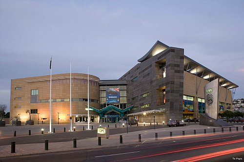 Te Papa New Zealand's National Museum - pic courtesy Te Papa