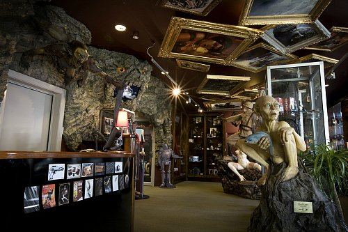 The Weta Cave Museum showcases Wellington's amazing impact on the film industry
