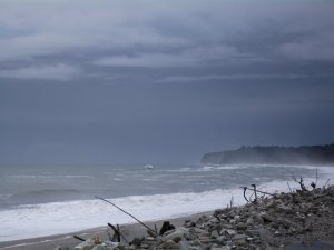 Picture of Bruce Bay on the Wild West Coast
